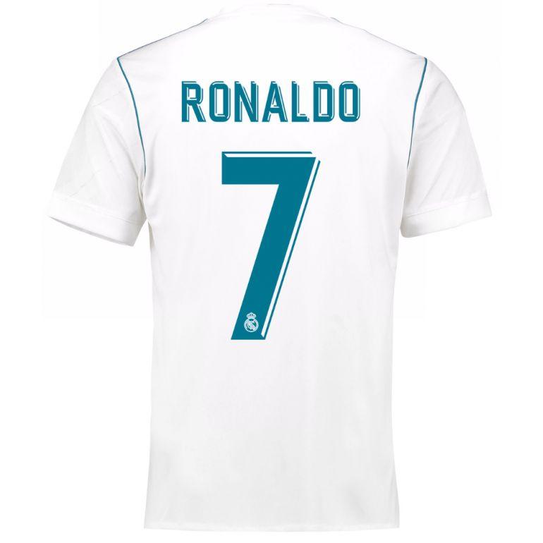 Maillot Ronaldo Real Madrid domicile 2017/18