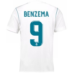 Maillot Benzema Real Madrid domicile 2017/18