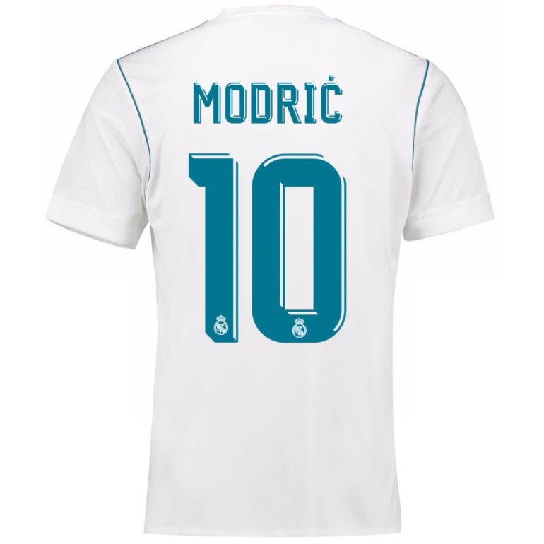 Maillot Modric Real Madrid domicile 2017/18