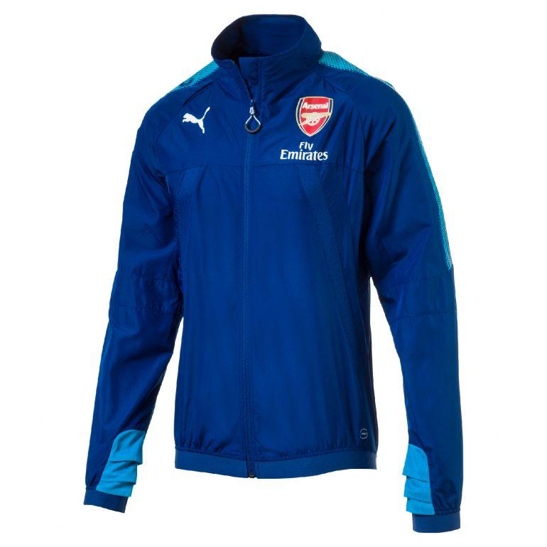 Coupe vent Arsenal bleu 2017/18