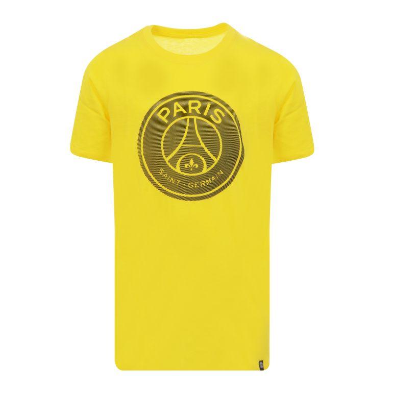T-shirt junior PSG jaune 2017/18