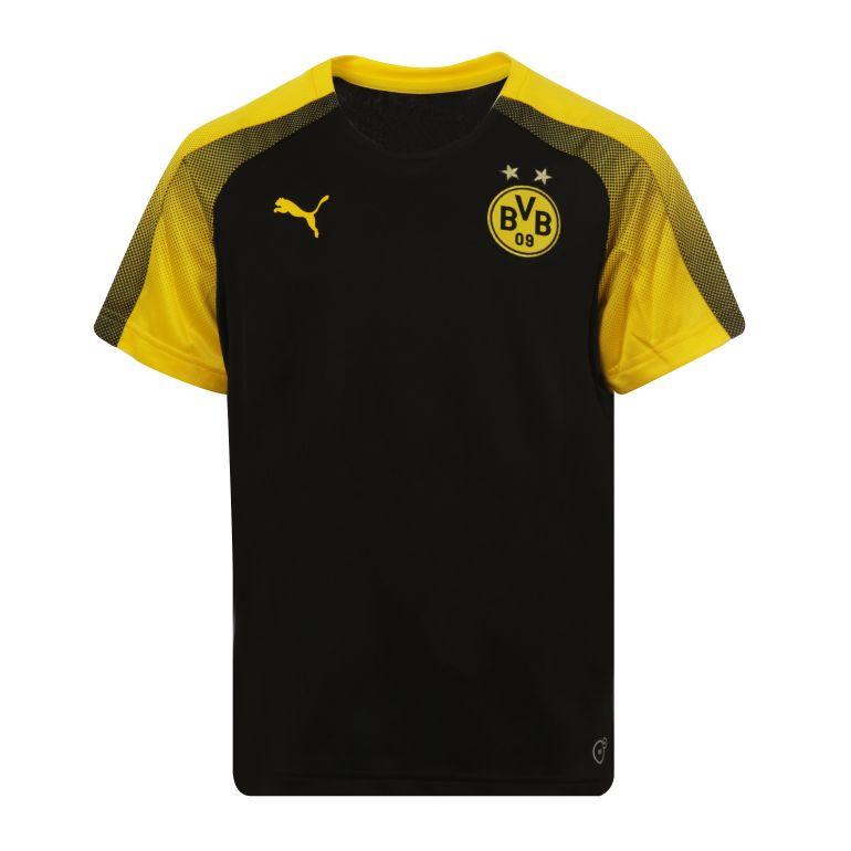 Maillot entraînement junior Dortmund jaune 2017/18