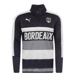 Sweat zippé Bordeaux bleu 2017/18