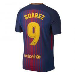 Maillot Junior Suarez FC Barcelone domicile 2017/18