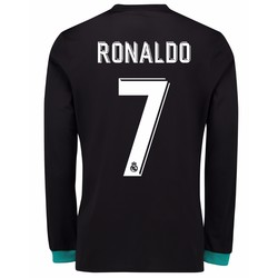 Maillot junior Ronaldo Real Madrid extérieur manches longues 2017/18