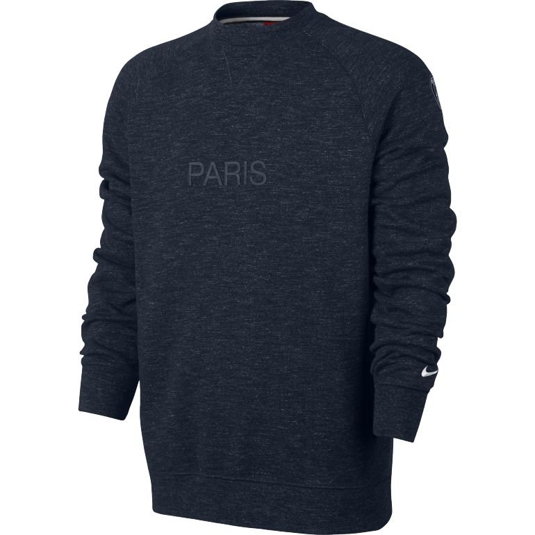 Sweat PSG Crew gris 2017/18