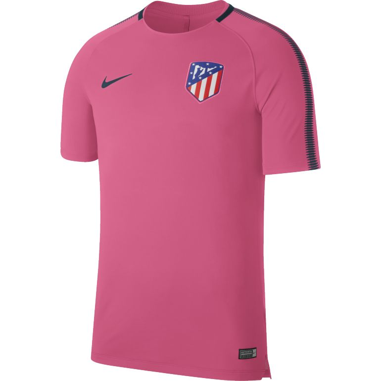maillot entra nement atl tico madrid third rose 2017 18 sur. Black Bedroom Furniture Sets. Home Design Ideas