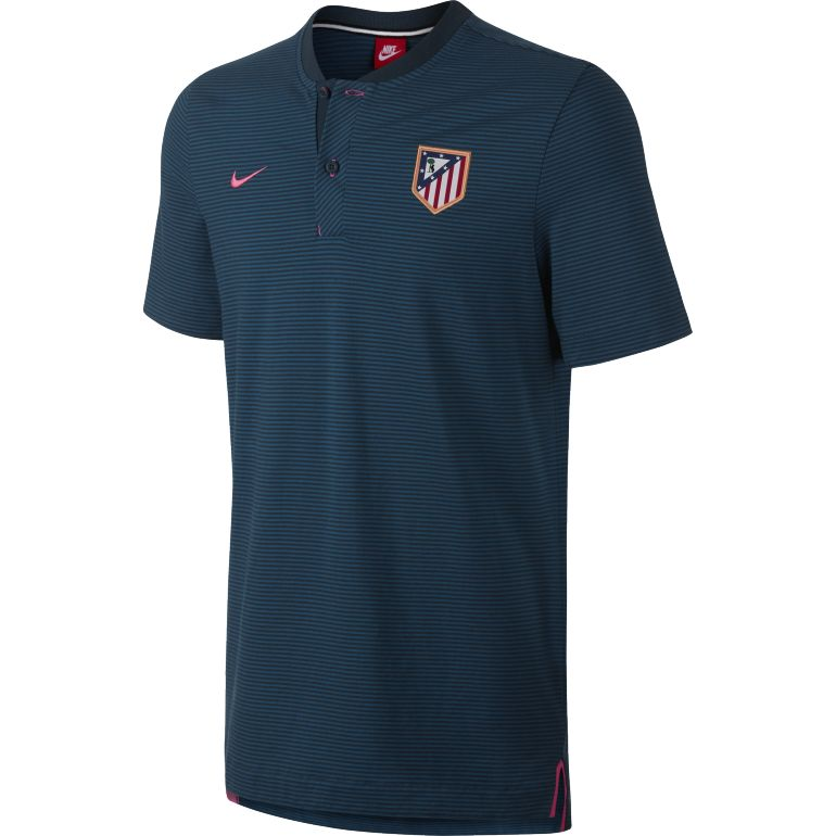 Polo Atlético Madrid authentique third 2017/18