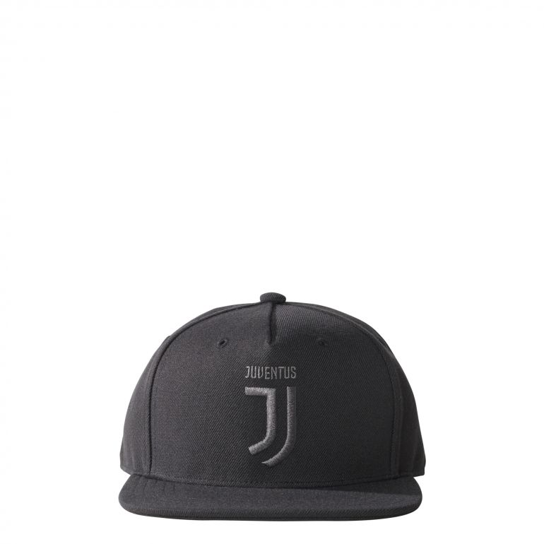 Casquette visière plate Juventus noir gris 2017/18