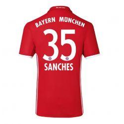 Maillot Renato Sanches Bayern Munich 2016 - 2017
