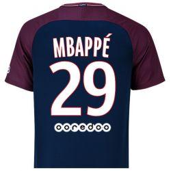 Maillot Mbappé PSG domicile 2017/18