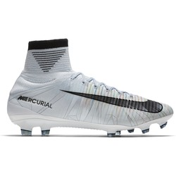 Mercurial Superfly V CR7 montantes FG blanc