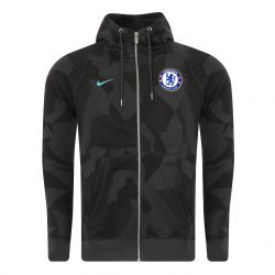 Veste survêtement Chelsea third molleton 2017/18