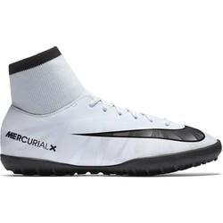 MercurialX Victory VI junior CR7 montantes turf blanc