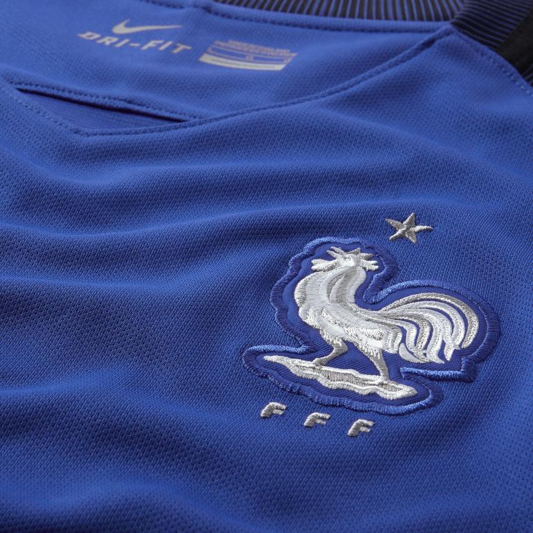 maillot mbapp equipe de france fff domicile bleu 2016 sur. Black Bedroom Furniture Sets. Home Design Ideas