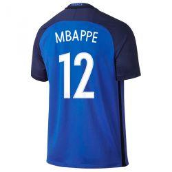 Maillot Mbappé Equipe de France FFF domicile Bleu 2016