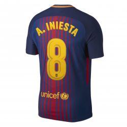 Maillot Iniesta FC Barcelone domicile 2017/18