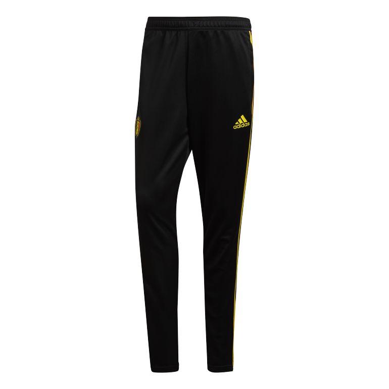 Pantalon entraînement Belgique noir 2018