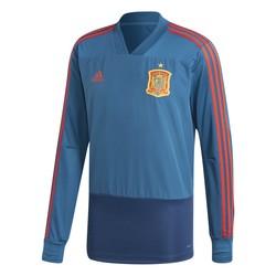 Sweat entraînement Espagne bleu 2018