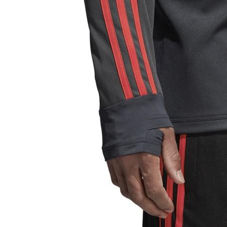 Sweat entraînement Espagne noir 2018