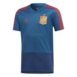 Maillot entraînement junior Espagne bleu 2018