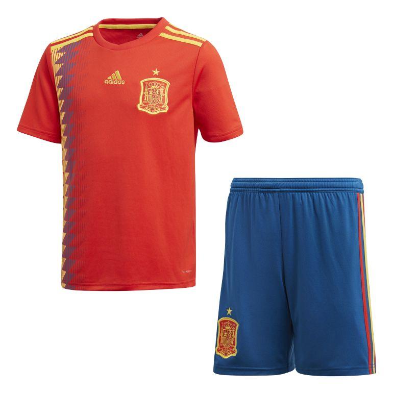 Tenue junior Espagne domicile 2018