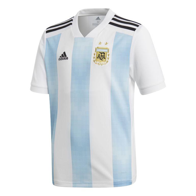 Maillot junior Argentine domicile 2018