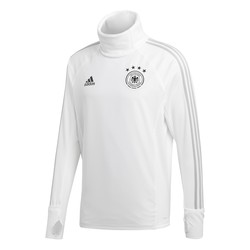 Sweat col montant Allemagne blanc 2018