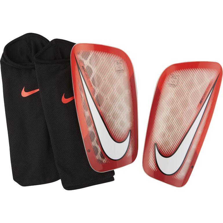 Protège tibias Nike Mercurial Flylite rouge 2017/18