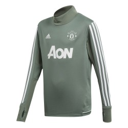Sweat entraînement junior Manchester United kaki 2017/18