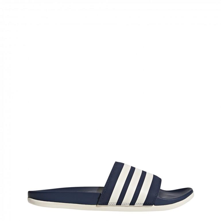 Sandales ADILETTE COMFORT bleu blanc