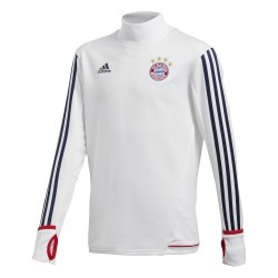 Sweat entraînement junior Bayern Munich blanc 2017/18