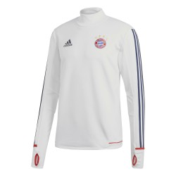 Sweat entraînement Bayern Munich blanc 2017/18
