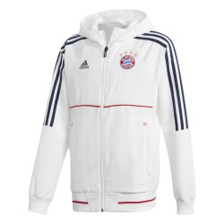 Veste survêtement junior Bayern Munich blanc 2017/18