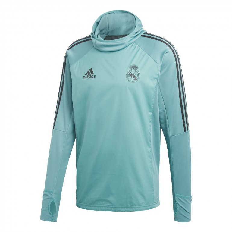 Sweat à capuche Real Madrid vert 2017/18