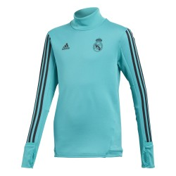 Sweat entraînement junior Real Madrid vert 2017/18