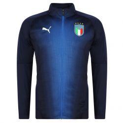 Veste survêtement Italie bleu 2018