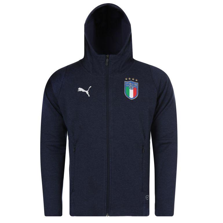 Veste survêtement Italie bleu foncé 2018