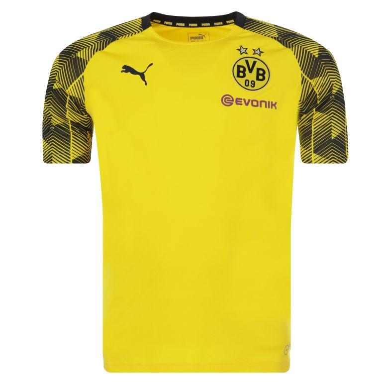 Maillot entraînement Dortmund technique jaune 2017/18