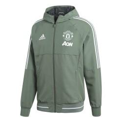 Veste survêtement Manchester United vert 2017/18