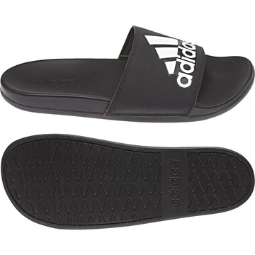Sandales ADILETTE COMFORT noir blanc