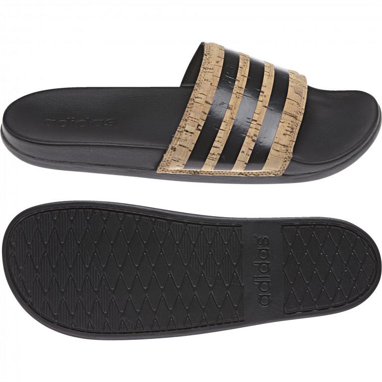 Sandales ADILETTE CF+ cork noir
