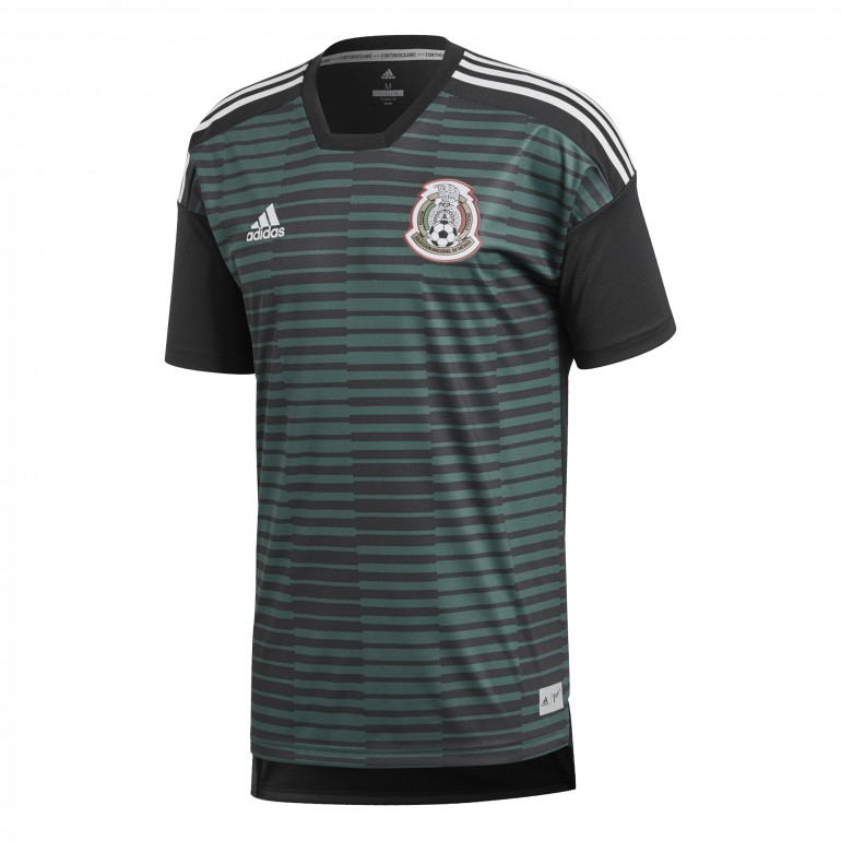 Maillot avant match Mexique vert 2018