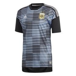 Maillot avant match Argentine bleu 2018