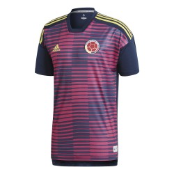 Maillot avant match Colombie rose 2018