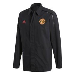 Veste survêtement Manchester United ZNE noir 2017/18