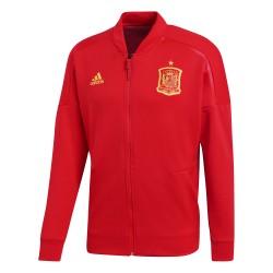 Veste survêtement Espagne ZNE rouge 2018