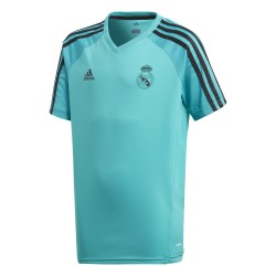 Maillot entraînement junior Real Madrid vert 2017/18