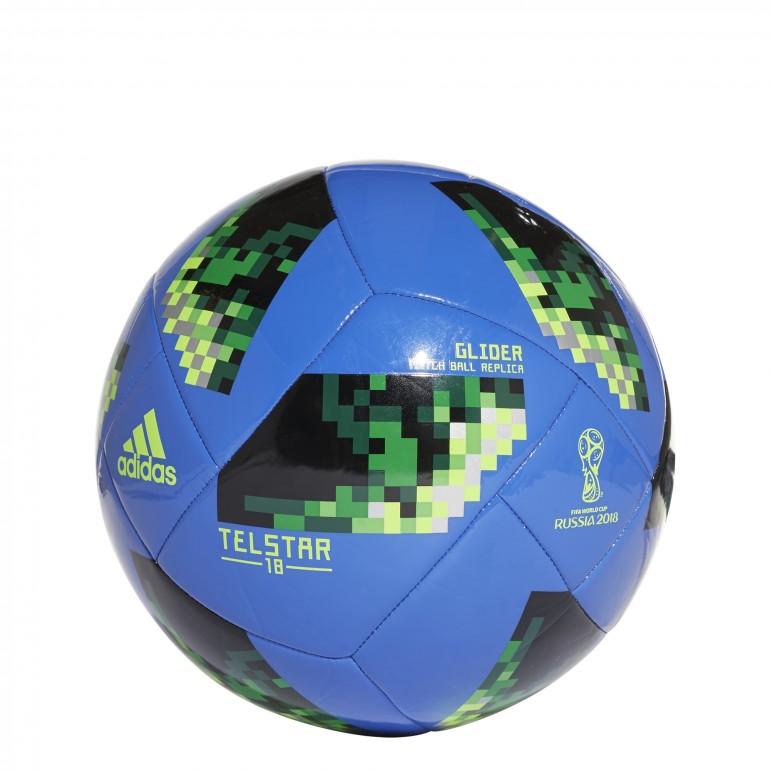 ac910ee9556ec Ballon Coupe du Monde bleu 2018 sur Foot.fr