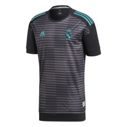 Maillot avant match Real Madrid gris 2017/18